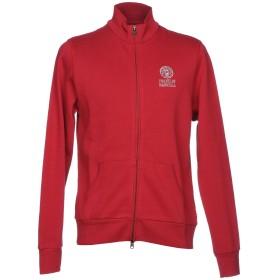 《セール開催中》FRANKLIN & MARSHALL メンズ スウェットシャツ レッド S コットン 100%