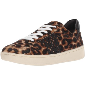 [LOEFFLER RANDALL] Women's Elliot Lace Up Sneaker with, Light Leopard, Size 8.5