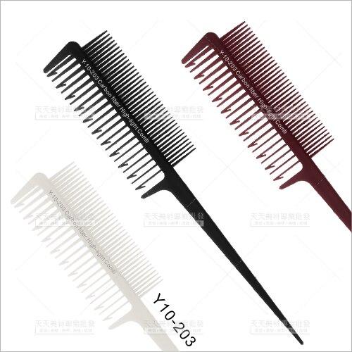 Y10日系挑染專用染髮梳-單支(Y10-203)[58327]抗酸鹼