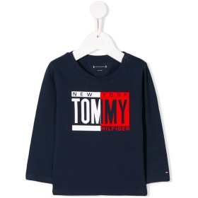 Tommy Hilfiger Junior ロゴ スウェットシャツ - ブルー
