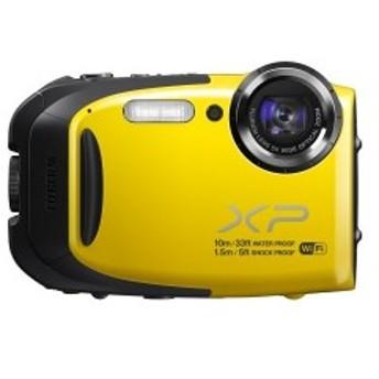 FUJIFILM コンパクトデジタルカメラ XP70Y イエロー F FX-XP70Y 中古 良品