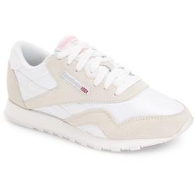 リーボック シューズ スニーカー Reebok 'Classic' Sneaker (Women) White/ Lig [並行輸入品]