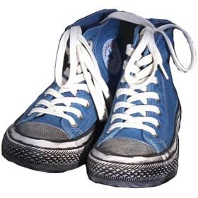 [カイヤス] スニーカー ズックシューズ レディース ハイカット キャンバス シューズ 靴 スポーツ系 帆布 軽量 044-lsmy-bl-325 (37 ブルー)