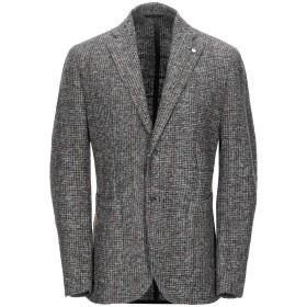 《9/20まで! 限定セール開催中》L.B.M. 1911 メンズ テーラードジャケット グレー 48 ポリエステル 70% / ウール 30%