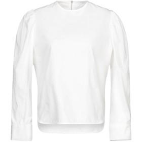 《期間限定セール開催中!》SANDRO レディース ブラウス ホワイト 1 コットン 100%