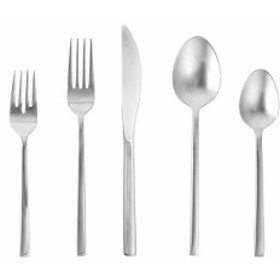(20 Piece Place Setting Polished Stainless Steel) - Fortessa Arezzo 18/10 S