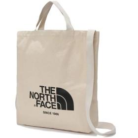 [ザノースフェイス] The NORTHFACE ビッグロゴ サブバッグ BIG LOGO TOTE BAG (IVORY) [並行輸入品]
