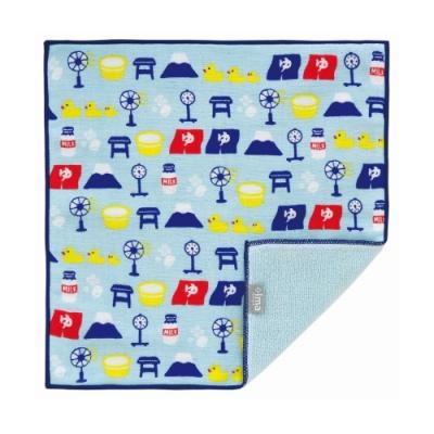 日本派迪 今治製有機優質純綿方巾-日式澡堂