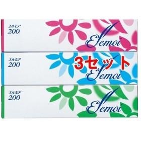 エルモア ティシュー 400枚(200組) ( 3箱入3セット )/ エルモア ( ティッシュ )
