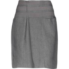 《セール開催中》BRUNELLO CUCINELLI レディース ひざ丈スカート グレー 44 麻 100%