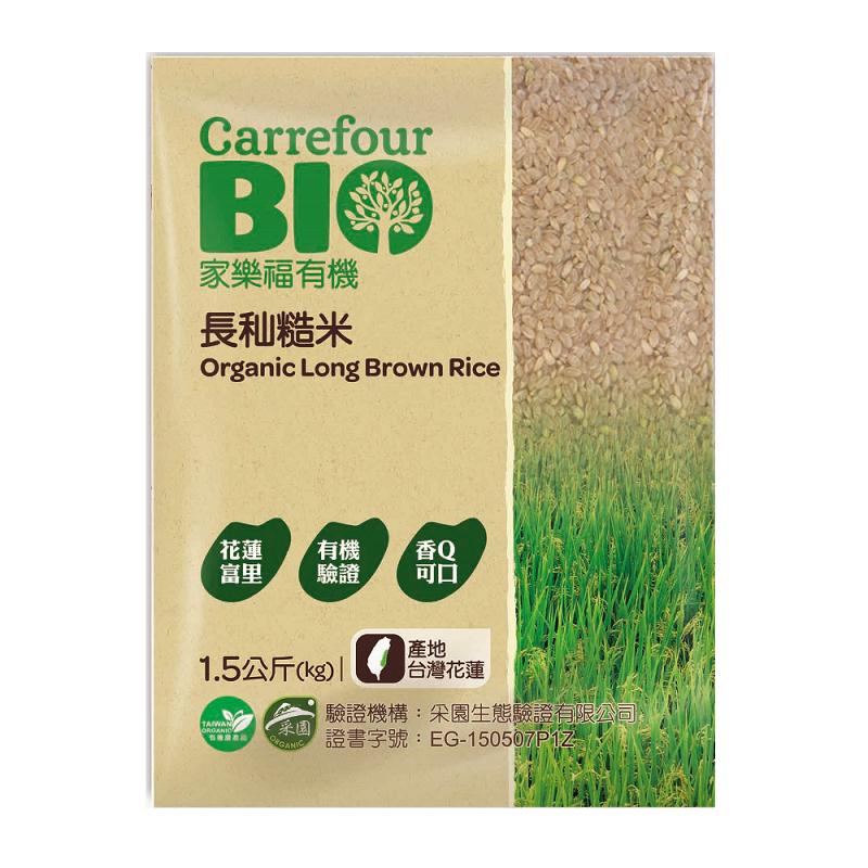 家樂福花蓮有機長秈糙米