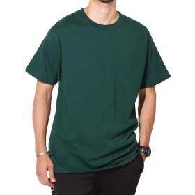 Hanes(ヘインズ) BEEFY-T Tシャツ ビーフィー 半袖 コットン 無地 US規格 S ディープフォレストグリーン