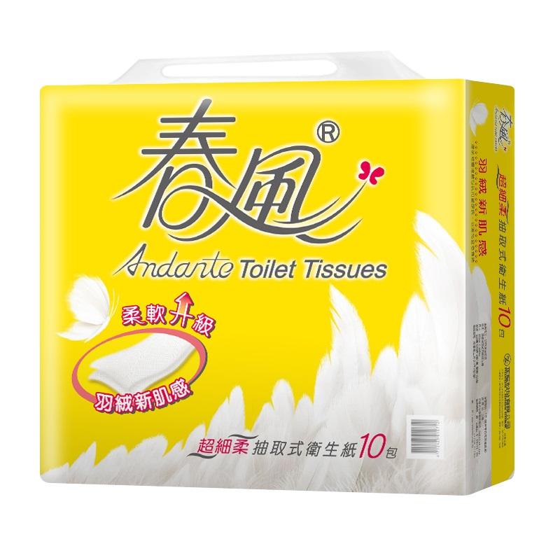 春風抽取衛生紙-110PC