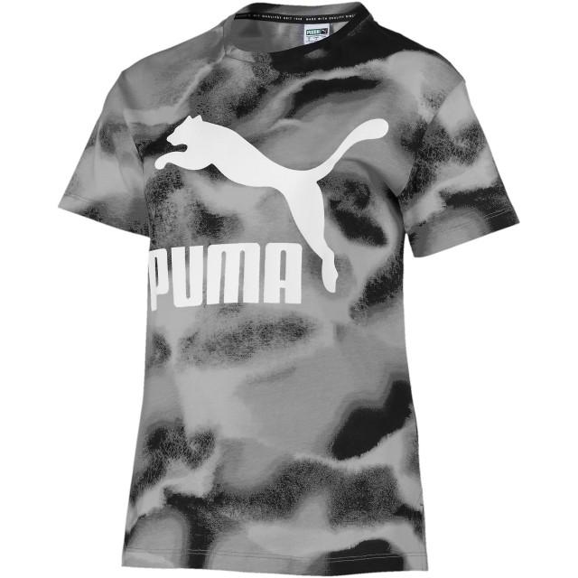 【プーマ公式通販】 プーマ CLOUD パック ウィメンズ AOP Tシャツ ウィメンズ Puma Black |PUMA.com
