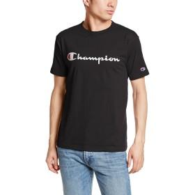 [チャンピオン] スクリプトロゴTシャツ ベーシック C3-H374 メンズ ブラック 日本 M (日本サイズM相当)