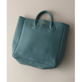 EDIFICE YOUNG & OLSEN / ヤング&オルセン EMBOSSED LEATHER TOTE M ブルー A フリー