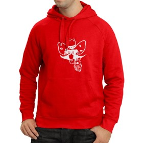 N4057H Hoodie Comboy up (Small 赤 ホワイト)