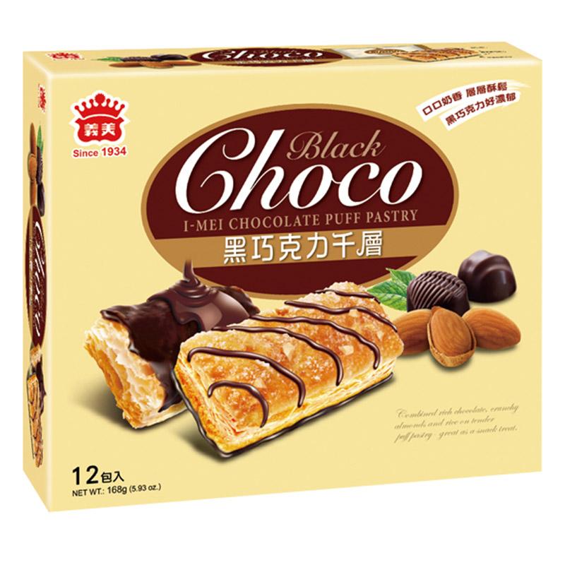 義美巧克力千層派-黑巧克力