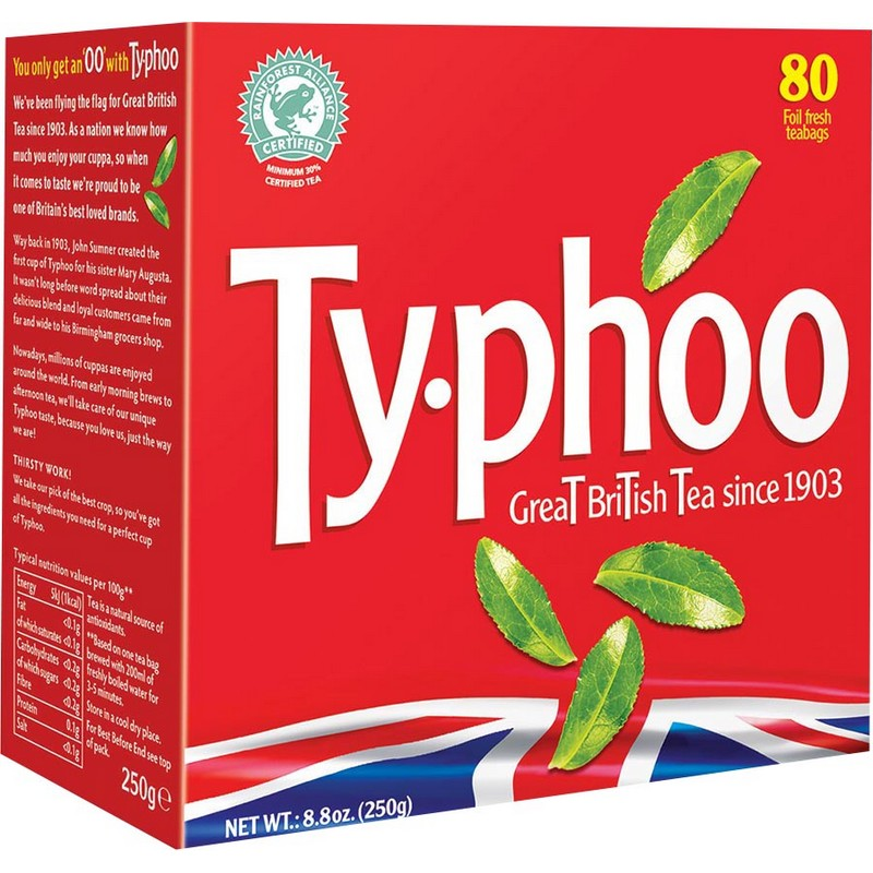 TYPHOO 特選紅茶 80入