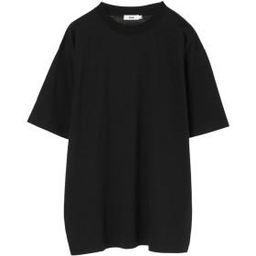 【5,000円以上お買物で送料無料】mens ハイゲージポンチ袖切り替えTEE