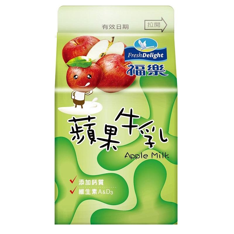 福樂蘋果牛乳 275ml到貨效期約6-8天