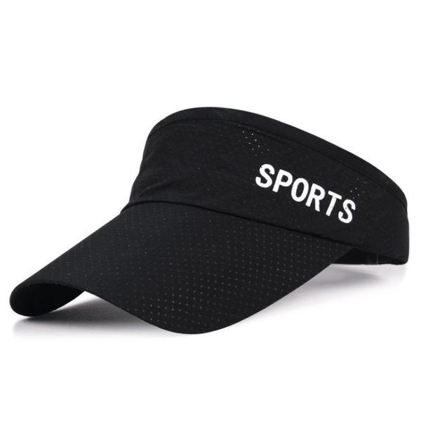 棒球帽 夏天戶外男女士運動網球帽無頂太陽帽遮陽帽棒球帽子韓版潮空頂帽