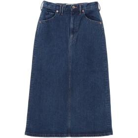 Moname Moname(モナーム) スタンダード デニム スカート /41193032 ミモレ丈・ひざ下丈スカート,ブルー