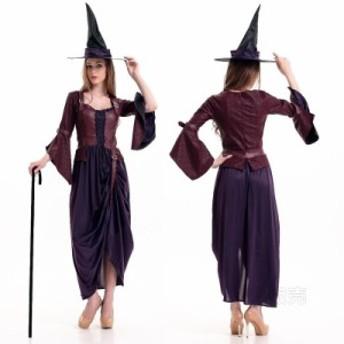 コスプレ デビル 悪魔 ハロウィン衣装 巫女 魔女風 ウィッチガール レディース 小悪魔 コスチューム 仮装 パーティーグッズ イベント