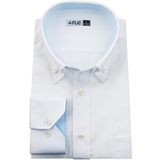 長袖ワイシャツ ボタンダウンカラー DT1312 M(80)ノーマル/nh-m-80-dt1312