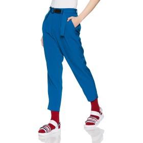 [ウィゴー] パンツ ベルト付ジョーゼットテーパード レディース ブルー 日本 M (日本サイズM相当)