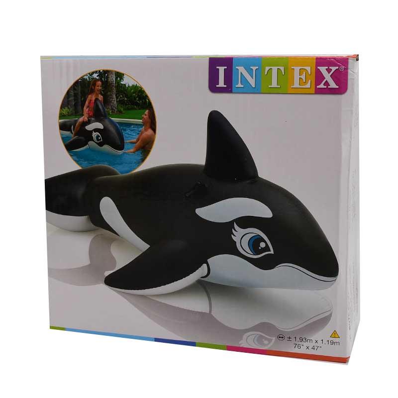 【泳具】193CM黑鯨座騎(適用年齡:3歲以上)