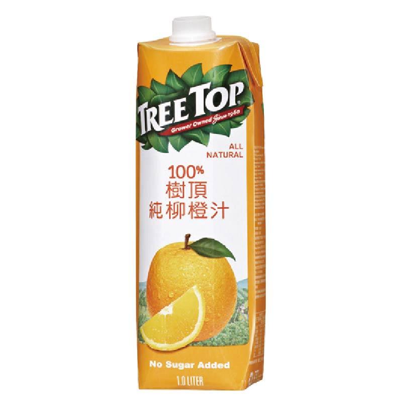 樹頂100純柳橙汁1000ml