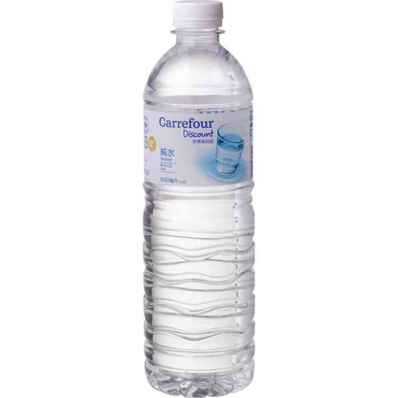家樂福超值純水  600ml