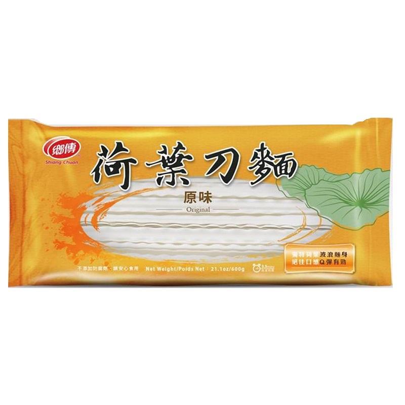 鄉傳荷葉刀麵-原味 600g