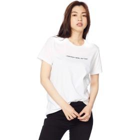 (ディーゼル) DIESEL レディース Tシャツ クルーネックロゴベーシック 半袖 Tシャツ 00SWP50HERA L ホワイト 100