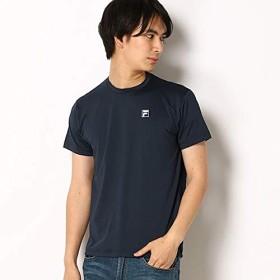 フィラ(FILA) ベンチレーション 半袖Tシャツ【ネイビー/M】