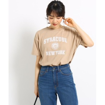 THE SHOP TK 秋ロゴTシャツ レディース 040-17508