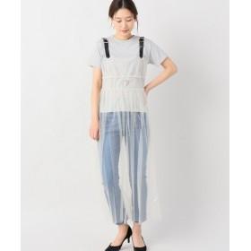 JOINT WORKS tresor hexagram tulle camisole dress ナチュラル フリー