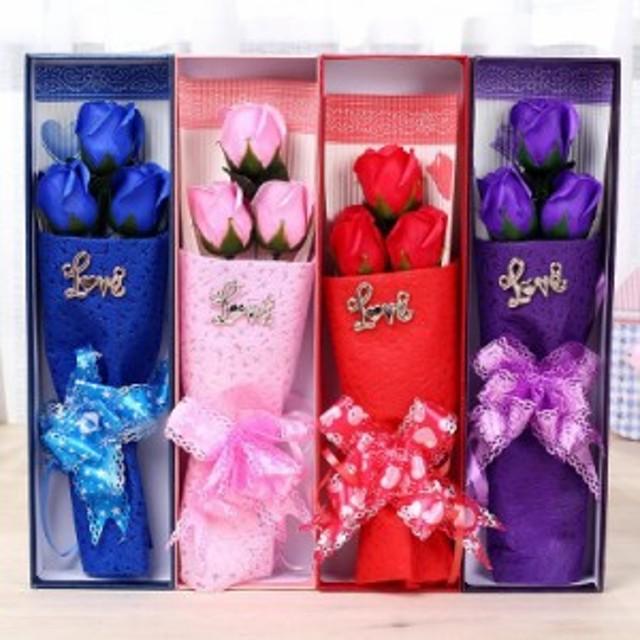 造花ソープフラワー 送料無料 結婚祝い プレゼント ギフト 誕生日 発表会 送別 花束 お花ブーケ 誕生祝い 贈り物 贈答品 二次会