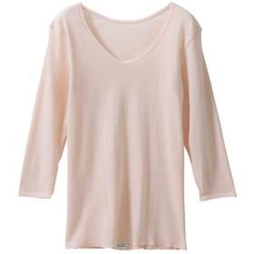 (アングル)ANGLE GOLD-100 婦人 日本製 8分袖シャツ 通年タイプ (L)