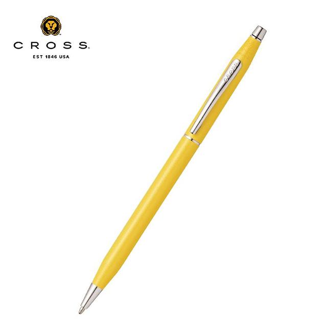 Cross經典世紀系列 海洋水系色調貝殼珍珠黃原子筆 AT0082-126 免運