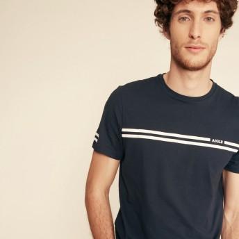 AIGLE メンズ ダークネイビー (001) シャツ・ポロシャツ
