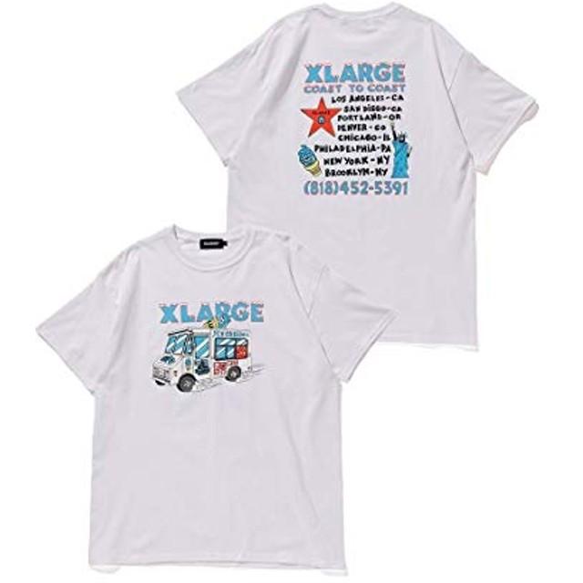 XLARGE (エクストララージ)S/S TEE ICE CREAM ホワイト M