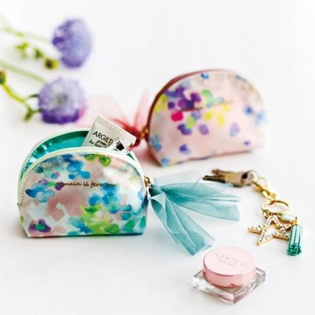 FELISSIMO フェリシモ バッグの中の小さな宝石 シェル形の手のりポーチ