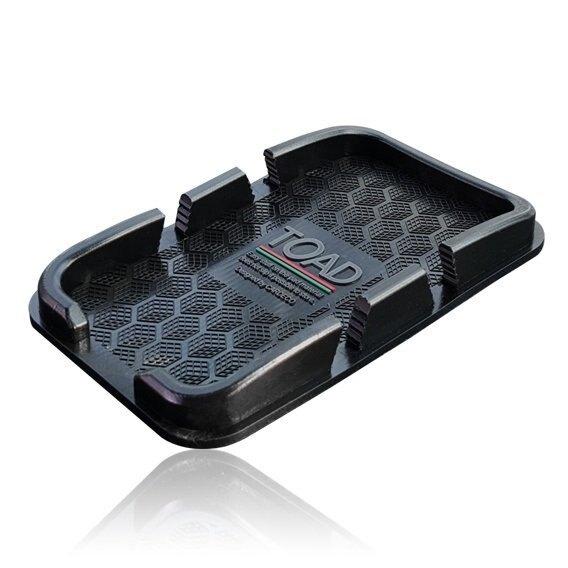 權世界@汽車用品 韓國TOAD 置放式 儀表板止滑墊置放式智慧型手機通用型置物盒盤 0039
