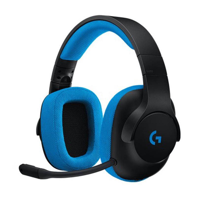 羅技 G233 有線遊戲耳機麥克風 幻競之聲