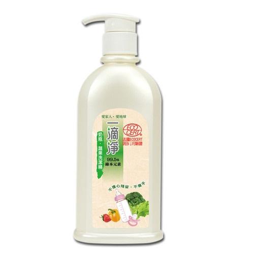 楓康一滴淨奶瓶蔬果清潔劑(檸檬)