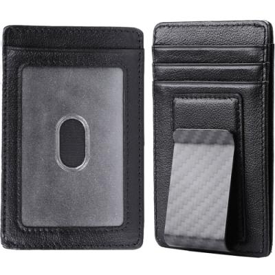 RFID屏蔽保護個資 旅行配件防盜收納 信用卡悠遊卡鈔票 卡片、證件層共x5 真皮工藝俐落外型
