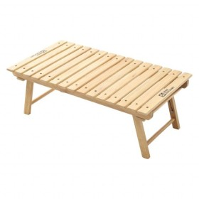テントファクトリー ウッドライングランドテーブル ナチュラル (TF-WLGT NA) キャンプ テーブル TENT FACTORY