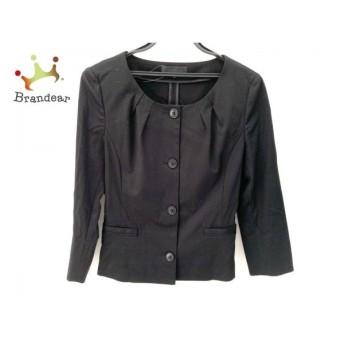 アンタイトル UNTITLED ジャケット サイズ3 L レディース 新品同様 黒 ノーカラー 新着 20190730